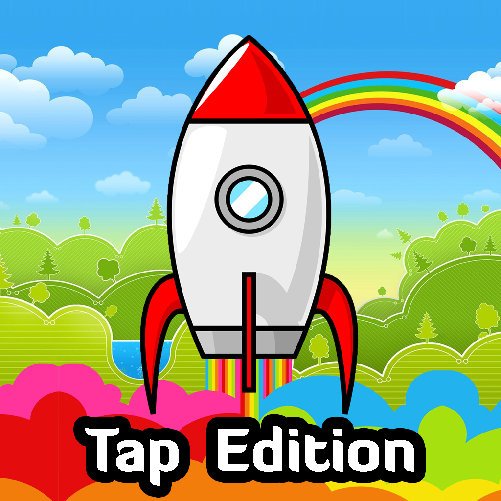 Rainbow Rockets: Tap Edition Icon